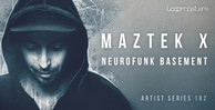 Maztek x  royalty free drum and bass samples  neurofunk bass loops  dnb  1000 x 512