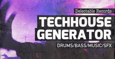 Techhouse generator 512 samples loops web