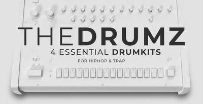 Production master   the drumz   essential drumkits for hip hop   trap   cover 1000x512