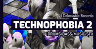 Technophobia 02 techno drums bass tech house samples 512 web
