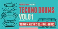 Techno drums volume 1 512 techno drum loops