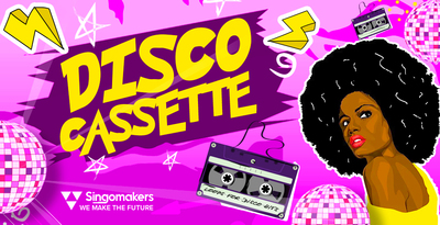 Singomakers disco cassette loops samples royalty free sounds 512 web