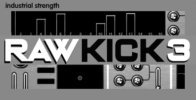 Industrial strength  raw kick 3 raw kick presets soft synth kick sounds 512