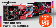 Cas top 100 djs patches bundle 1000 512 web