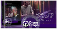 Adam betts drum breaks live drum loops dnb breakbeat funk samples 512 web