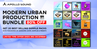 Apollosound urban production bundle cyber sales sounds offer royalty free 512 web