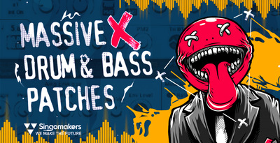 Singomakers massive x drum bass patches 512 web