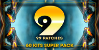 99 patches 60 kits supe pack 1000 512