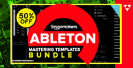 Singomakers ableton mastering templates bundle 1000 512 web