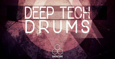 Datacode focus deep   tech drums bannerweb