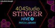 4 404 studio hive 2 sound set audio wav drums pads  leads stabs kicks acid 1000 x 512 web