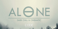Code sounds   alone   dark chill   cinematic   artwork banner