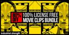 License Free Movie Clips Bundle