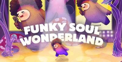 Funky Soul Wonderland   Cover Loopmastersweb