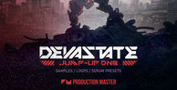 Production master   devastate   jump up drum n bass   artwork 1000x512web