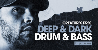 Royalty free drum   bass samples  dnb percussion loops  neurofunk bass loops  bass hits  drum and bass atmospheres  creatures music at loopmasters.com rectangle