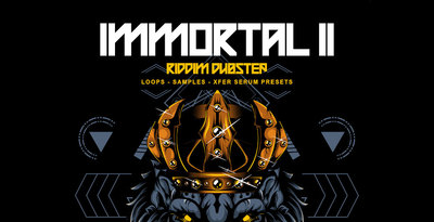 Production master   immortal 2   riddim dubstep   artwork 1000x512web