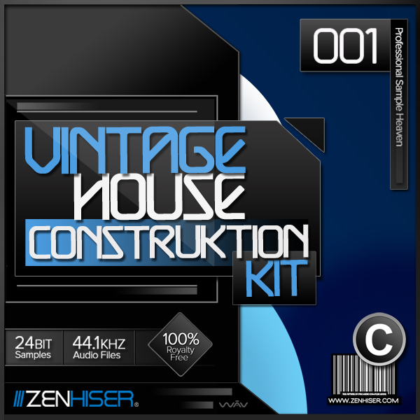 Zenhiser - The Classic House Drum Kit (WAV) hit