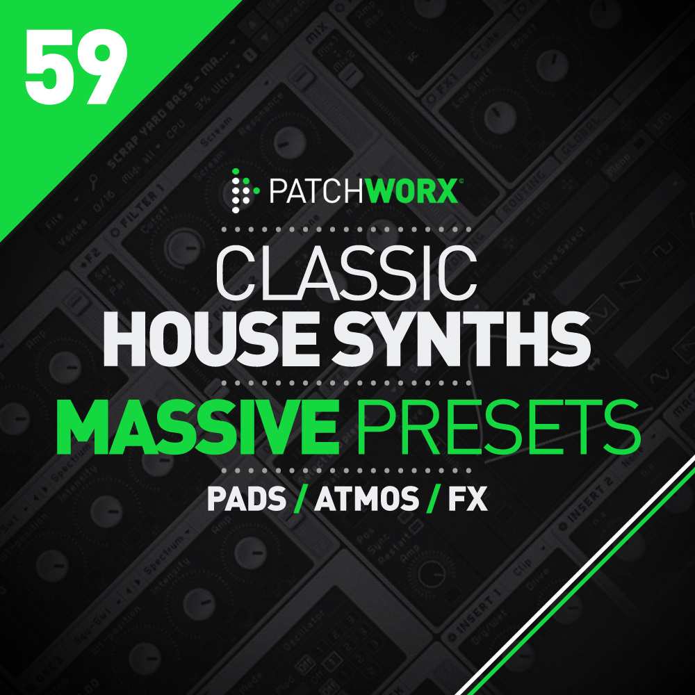 Classic House Synths - Massive Presets