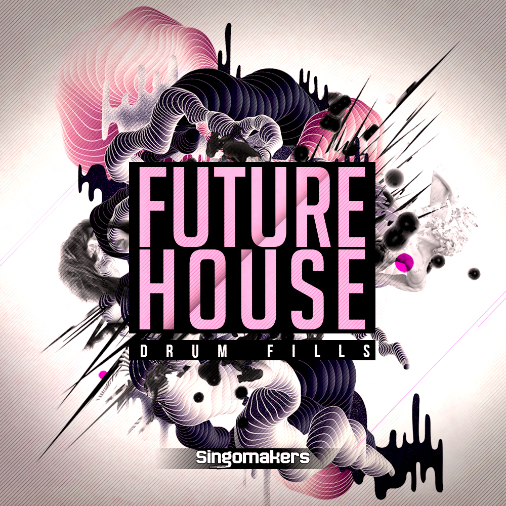 Future House Drum Fills, EDM Drum Loops, Tech House Rex2 Files, Singomakers