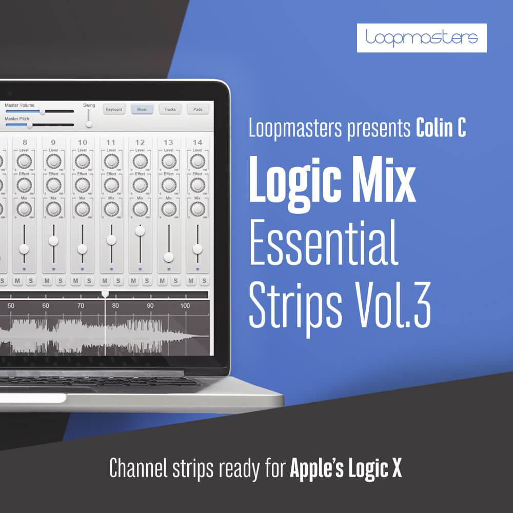 Logic - Mix Essential Channel Strips Vol  3