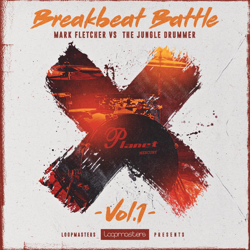 Mark Fletcher vs The Jungle Drummer – Breakbeat Battle Vol1