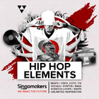 Singomakers hip hop elements beats vinyl cuts fx vocals synths bass scratch loops shots unlimited inspiration 1000 1000