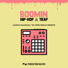 Production master   boomin hip hop   trap   cover 1000x1000
