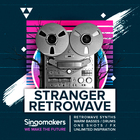 Singomakers stranger  retrowave retrowave synths bass loops drums one shots fx  unlimited inspiration 1000 1000