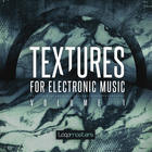 Royalty free electronic textures  layered synth sounds  electronic drum loops and ambient pads  deep bass