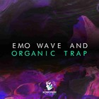 Emo wave and organic trap artwork 1000 komorebi trap loops
