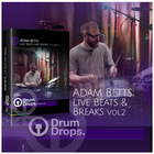 Adam betts drum breaks live drum loops dnb breakbeat funk samples 1000 web