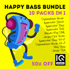 Iq samples happy bass bundle 1000 web