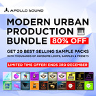 Apollosound urban production bundle cyber sales sounds offer royalty free 1000 web