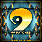 99 patches 60 kits supe pack 1000 1000