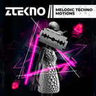 Ztekno melodic techno motions underground techno royalty free sounds 1000x1000 web