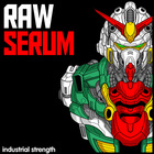 2 raw serum rawstyle  hardstyle  hardcore  main stream  up tempo  screeches  squeals  leads  kick drums  and fx 1000 web