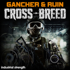 2 gancher and ruin crossbreed hardcore drum n bass industrial hardstep dnb acid tekstep 1000 web