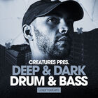 Royalty free drum   bass samples  dnb percussion loops  neurofunk bass loops  bass hits  drum and bass atmospheres  creatures music at loopmasters.com