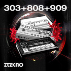 Ztekno 303 808 909 underground techno royalty free sounds ztekno samples royalty free 1000 web