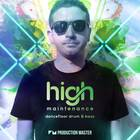 Production master   high maintenance   dancefloor drum   bass   artwork 1000web